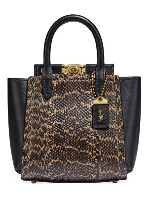 COACH Troupe Tote 16 Exotic Bag