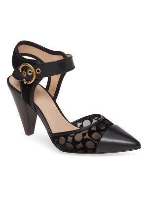 COACH wren pointy toe pump