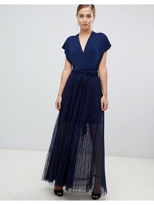 Coast corwin tulle maxi dress