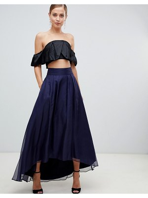 Coast iridessa high low chiffon skirt
