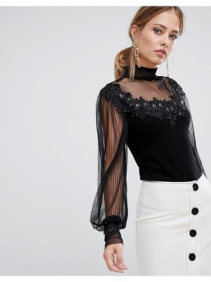 Coast janiya sequin embellished top