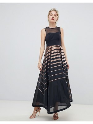 Coast ombre stripe maxi gown
