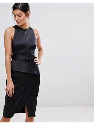 Coast rosalind belted pencil dress