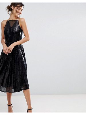 Coast vivianna a-line sequined dress