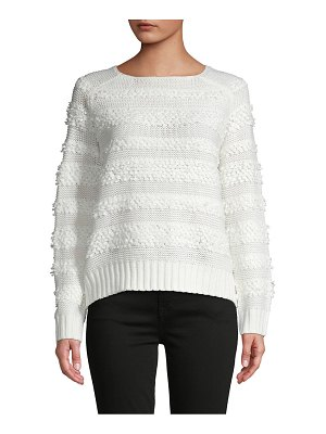 Cocobleu Loop Stitched Sweater