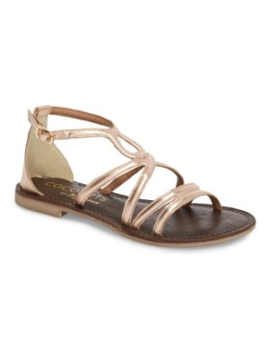 COCONUTS BY MATISSE palm beach metallic sandal