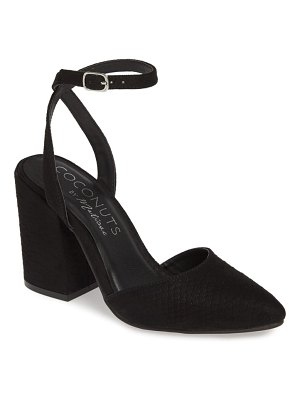 COCONUTS BY MATISSE ritual ankle strap pump