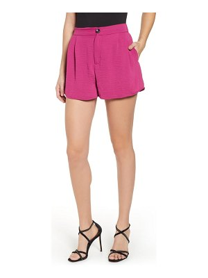 CODEXMODE pleat front shorts