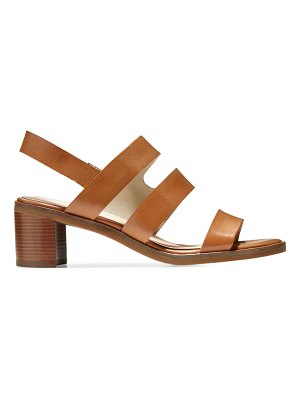 Cole Haan adella leather slingback sandals