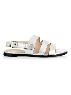 Cole Haan anela grand metallic leather sandals