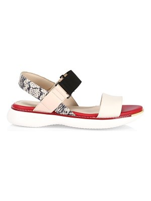 Cole Haan grand ambition leather sandals