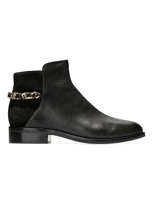 Cole Haan idina chain leather ankle boots