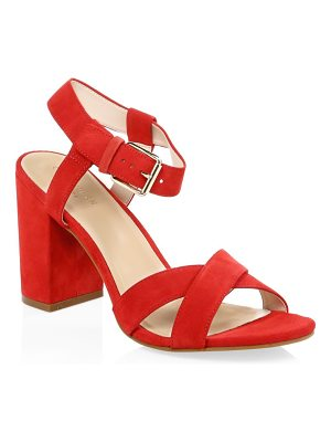 Cole Haan kadi suede ankle strap sandals