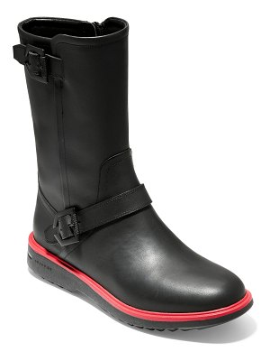 Cole Haan millbridge waterproof moto boot