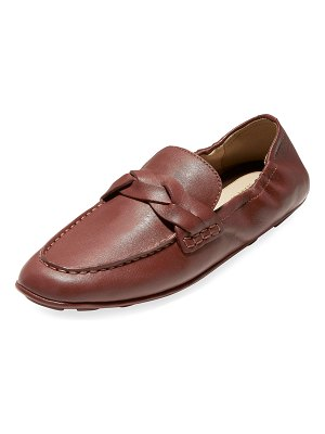 Cole Haan Odette Driverina Grand Leather Foldable Loafers