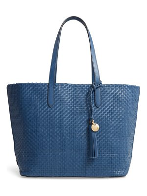 Cole Haan payson rfid woven leather tote