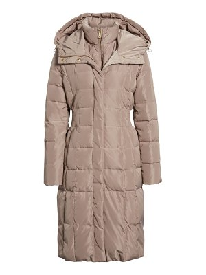 Cole Haan Signature cole haan bib insert down & feather fill coat