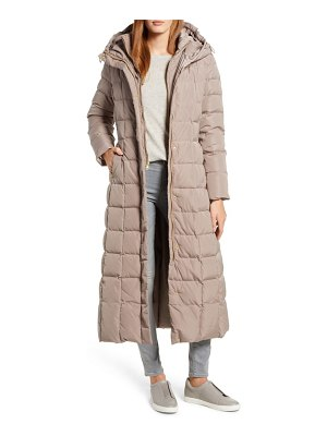 Cole Haan Signature cole haan quilted coat with inner bib