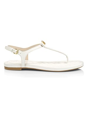 Cole Haan tali mini bow patent leather sandals