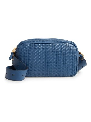 Cole Haan zoe rfid woven leather camera bag