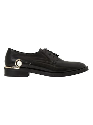 COLIAC 10mm fortuny jeweled leather shoes
