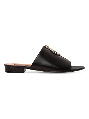 COLIAC 20mm belle zipped leather flats