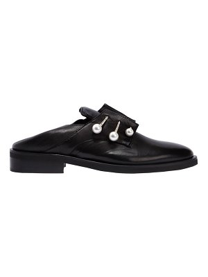 COLIAC 20mm fergy piercing leather shoes