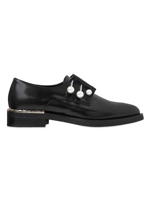 COLIAC 20mm ferny piercing leather shoes