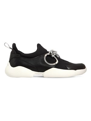 COLIAC 30mm doc neoprene & leather sneakers