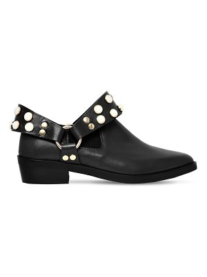 COLIAC 30mm griet embellished leather boots