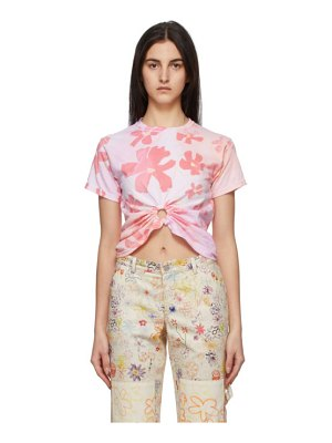 Collina Strada flower patch center ring t-shirt