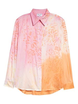 Collina Strada sunny tie dye button-up shirt