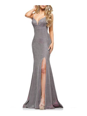 Colors Dress glitter mermaid gown