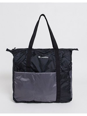 Columbia lightweight packable 21l tote bag in black