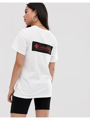 Columbia north cascades t-shirt in white