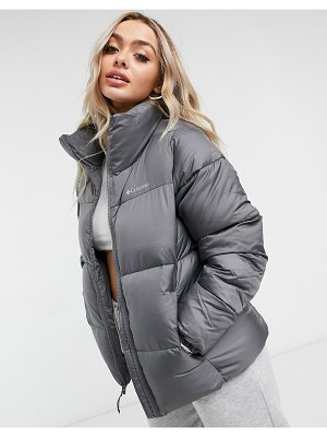 Columbia puffect jacket in gray