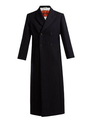 COLVILLE double breasted wool blend coat