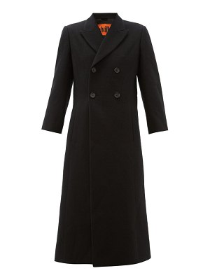 COLVILLE military double breasted wool coat
