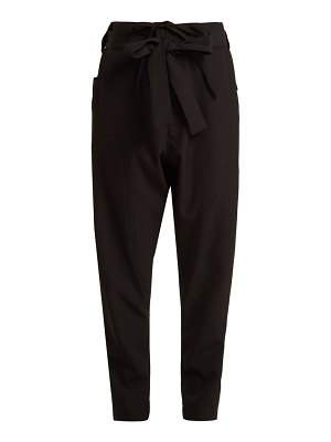 COLVILLE Straight-leg cargo trousers