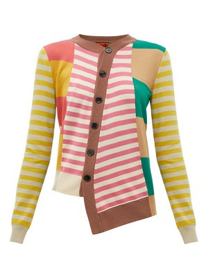 COLVILLE striped wool cardigan