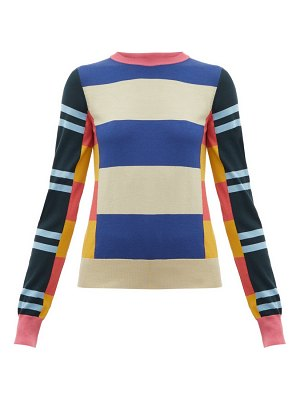 COLVILLE striped wool sweater