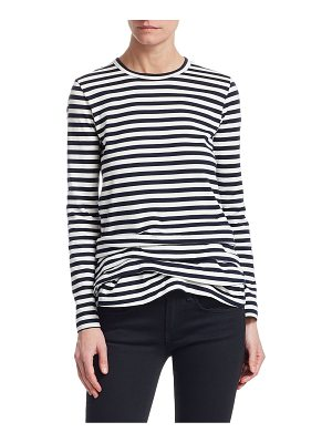 Comme des Garcons Comme des Garcons striped cotton long-sleeve top