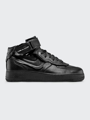 Comme Des Garcons x Nike Air Force Cutoff Leather Sneakers