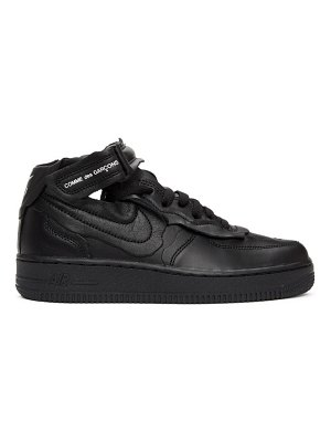 Comme Des Garcons black nike edition air force 1 mid sneakers