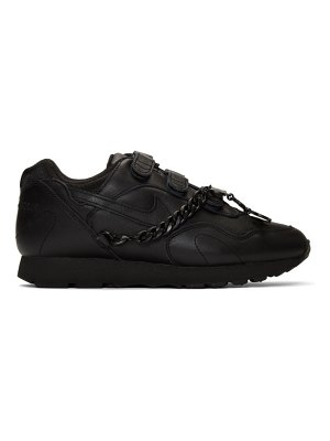 Comme Des Garcons black nike edition outburst sneakers