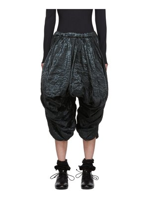 Comme Des Garcons black voluminous trousers
