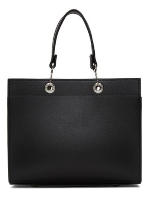 Comme des Garcons Comme des Garcons black recycled leather tote
