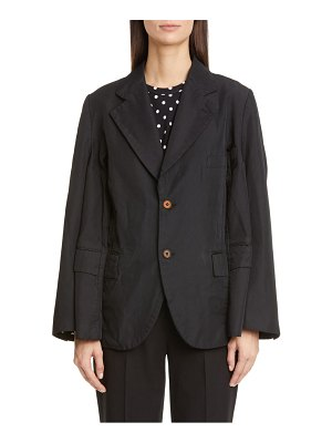 Comme Des Garcons double sleeve oversized blazer