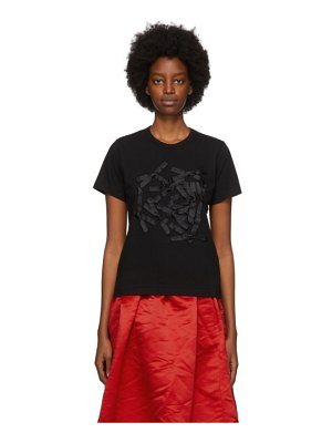 Comme des Garcons Girl black bow t-shirt