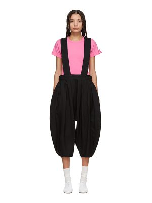 Comme des Garçons GIRL Crinkled Pleated Suspender Trousers